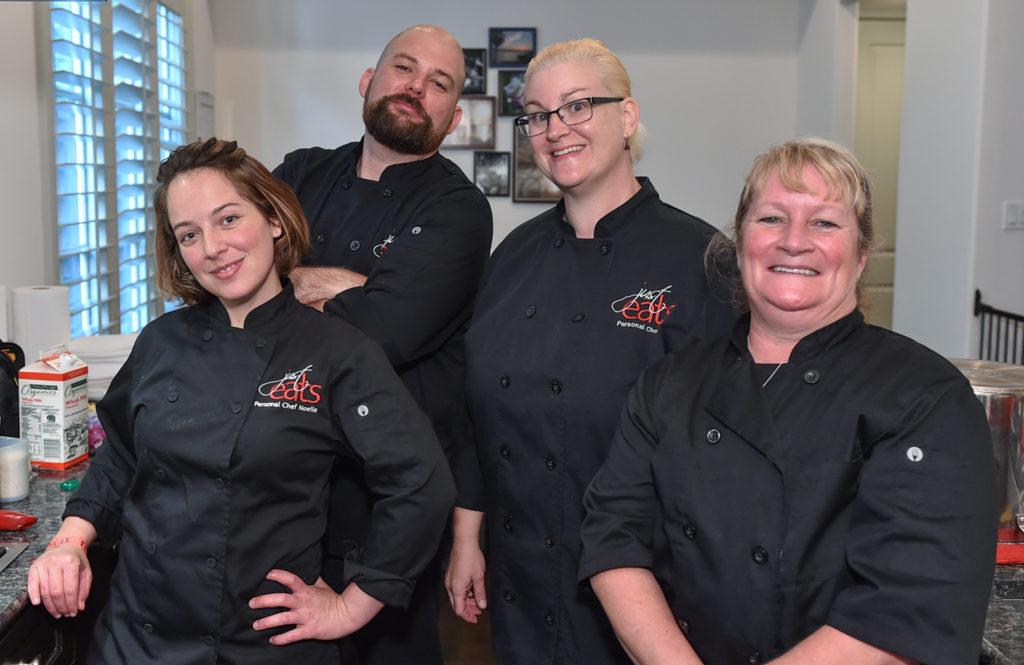 Chefs Noelle, Drew, Teri and Dana