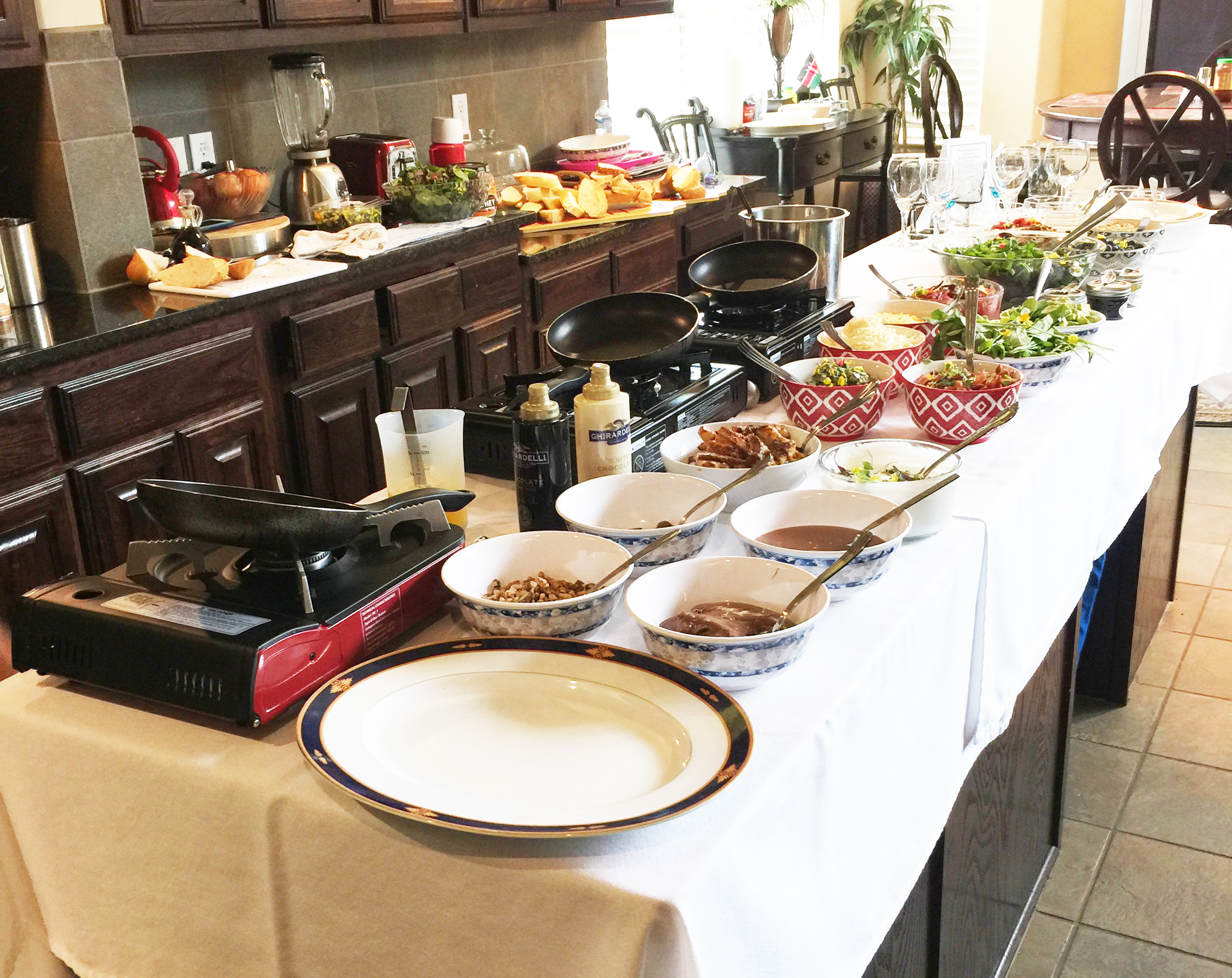 Brunch Buffet with Omelet and Crepe Stations