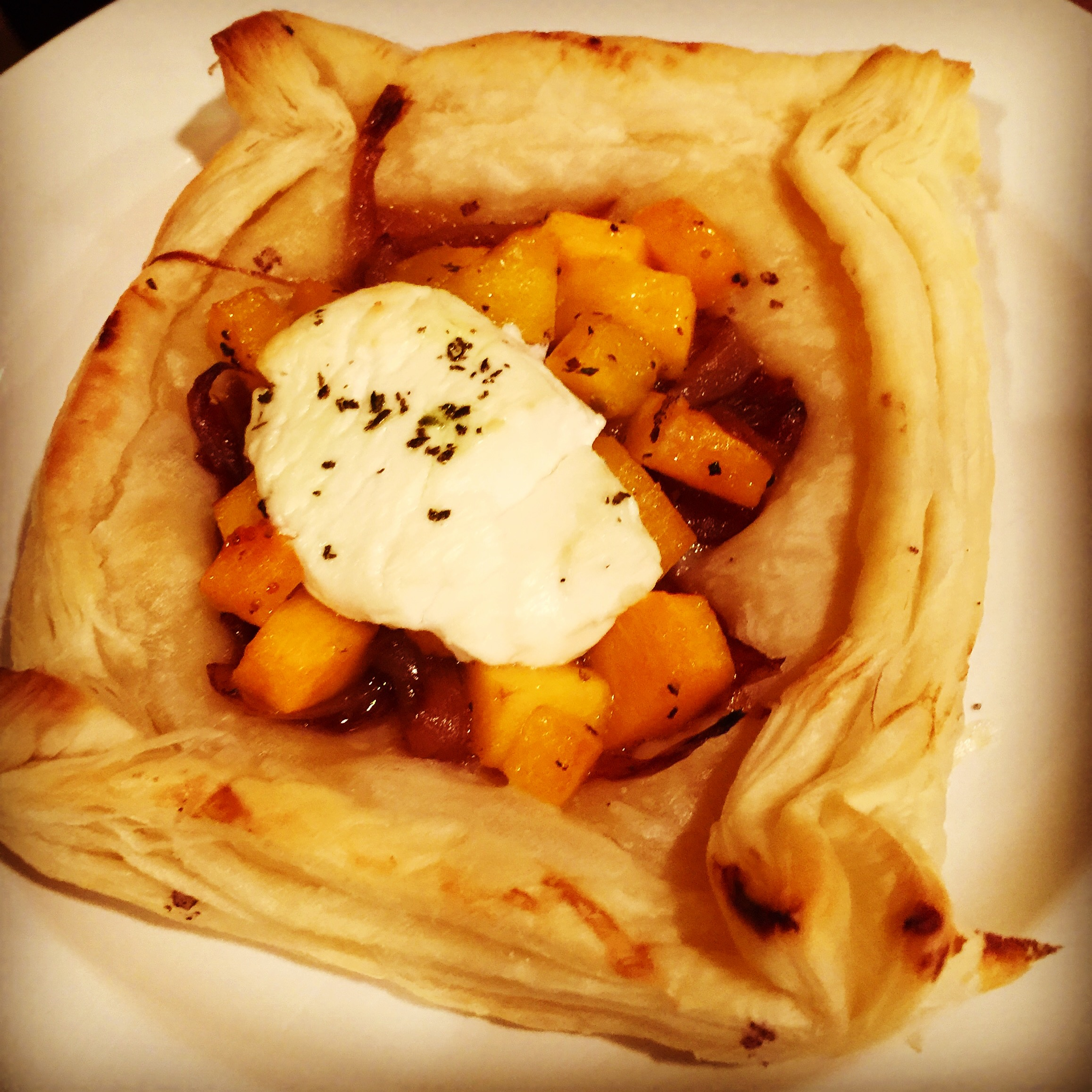 Roasted Butternut Squash Tart
