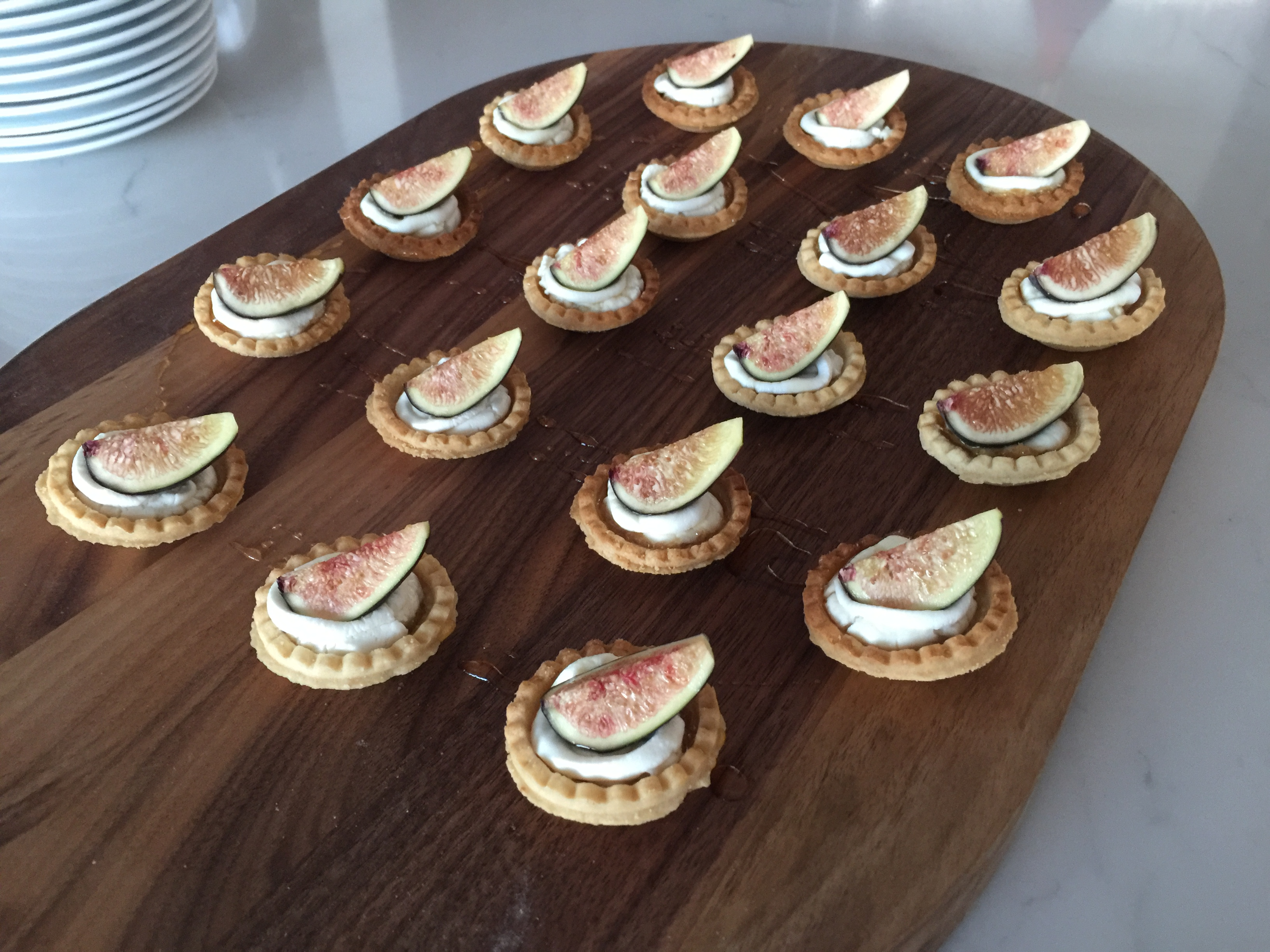 Fig and Goat Cheese Mini Tarts