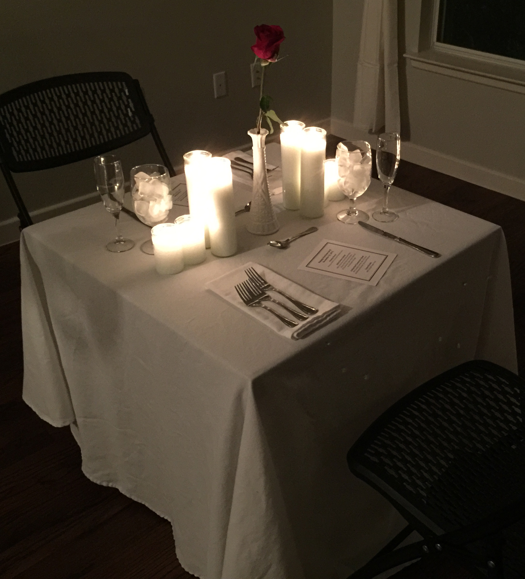 Romantic Dinner for 2