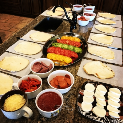 Build-Your-Own-Pizza Party