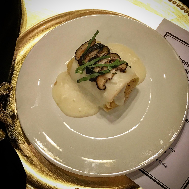 Handmade Lasagna Roll